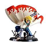 zhongjiany 16 cm Anime Figura Juguete Naruto Namikaze Minato Figurine Estatuas Colecciones( Colorful)
