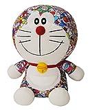 DIVADIS Doraemon Peluche Grande Original 25 cm, Juguete Muñeco de Felpa Colorida con Escenas Impresas del Manga Japonés