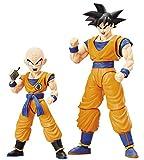 BANDAI Model Kit–56635Figure Rise Son Goku y Krillin Juego, 19763