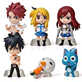 Figura de Anime Fairy Tail Mini de Altar, 6 unidades