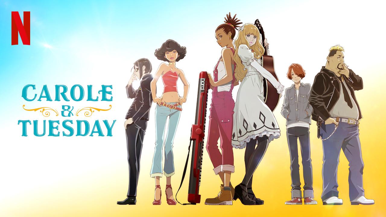 manga-anime-carole y tuesday