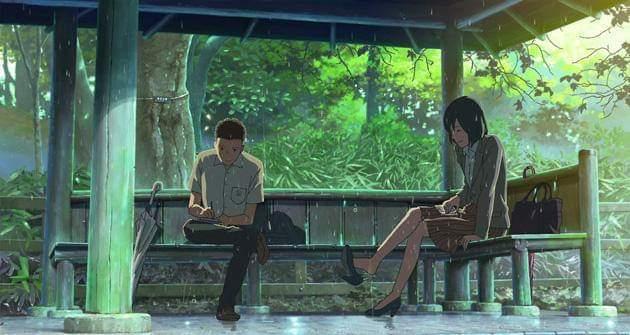 manga-anime-jardín de las palabras